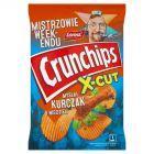 Crunchips X-Cut Chipsy ziemniaczane grubo krojone o smaku kurczaka w ziołach 140 g