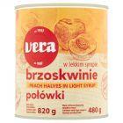 Vera Brzoskwinie połówki w lekkim syropie 820 g