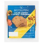 Bezgluten Chleb ciemny z dynią i żurawiną 200 g