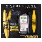 Maybelline New York Maskara pogrubiająca i Garnier Płyn micelarny 3w1