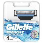 Gillette Mach3 Start Ostrza do maszynki do golenia, 4 sztuki