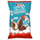 Kinder Eggs Chrupiący wafelek pokryty mleczną czekoladą z mlecznym i kakaowym nadzieniem 120 g