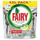 Fairy Platinum All in One Lemon Kapsułki do zmywarki 70 sztuk