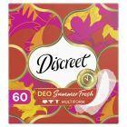 Discreet Multiform Summer Fresh Oddychające wkładki higieniczne x60