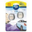 Ambi Pur Moonlight Vanilla Samochodowy odświeżacz powietrza x2