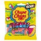 Chupa Chups Mini Tubes Kwaśne żelki o smaku owocowym 90 g