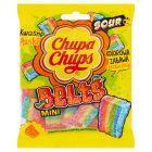 Chupa Chups Mini Belts Kwaśne żelki o smaku owocowym 90 g