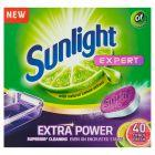 Sunlight Expert Extra Power Citrus Fresh Tabletki do zmywarki 700 g (40 sztuk)