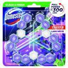 Domestos Power 5 Lavender Kostka toaletowa 3 x 55 g