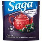 Saga Herbatka owocowa o smaku czarna porzeczka 34 g (20 torebek)