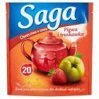 Saga Herbatka owocowa o smaku pigwa i truskawka 34 g (20 torebek)