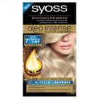 Syoss Oleo Intense Rozjaśniacz Srebrzysty blond 12-00