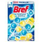 Bref WC Perfume Switch Zawieszka myjąco-zapachowa do muszli WC świeżość oceanu-cytrus 2 x 50 g