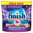 Finish Quantum Max Lemon Tabletki do zmywarki 837 g (54 sztuki)