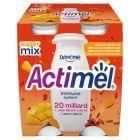 Danone Actimel Mleko fermentowane o smaku mango-kurkuma-goji 400 g (4 x 100 g)