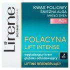 Lirene Folacyna Lift Intense 50+ Wygładzający krem głęboko odbudowujący na noc 50 ml
