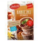 Delecta Babeczki Brownie karmelowe z czekoladą 360 g