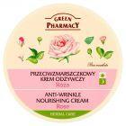 Green Pharmacy Przeciwzmarszczkowy krem odżywczy Róża 150 ml
