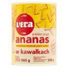 Vera Ananas w kawałkach w lekkim syropie 565 g