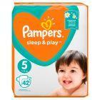 Pampers Sleep&Play, rozmiar5, 42pieluszek, 11?16kg