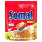 Somat Gold Lemon & Lime Tabletki do mycia naczyń w zmywarkach 691,2 g (36 x 19,2 g)