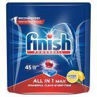 Finish All in 1 Max Lemon Tabletki do mycia naczyń w zmywarce 720 g (45 sztuk)
