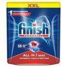 Finish All in 1 Max Tabletki do mycia naczyń w zmywarce 928 g (58 sztuk)