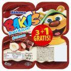 Bakoma Bakuś Deser mleczny o smaku czekoladowo-orzechowym 240 g (4 sztuki)