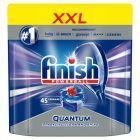 Finish Quantum Max Kapsułki do mycia naczyń w zmywarce 697,5 g (45 sztuk)