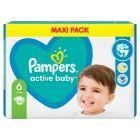 Pampers Active Baby Rozmiar 6, 44 pieluszki, 13-18 kg