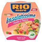 Rio Mare Insalatissime Paella e Tonno Gotowe danie z ryżu warzyw i tuńczyka 160 g