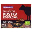 NaturAvena Ekologiczna kostka rosołowa wołowa 60 g (6 x 10 g)