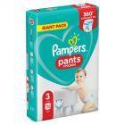Pampers Pants, Rozmiar 3, 72 Pieluchomajtki