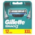Gillette Mach3 Ostrza wymienne do maszynki do golenia dla mężczyzn, 12 sztuki