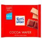 Ritter Sport Wafel przekładany kremem kakaowym i krem kakaowy z płatkami ryżowymi 100 g