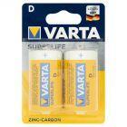 Varta Superlife D R20 1,5 V Bateria cynkowo-węglowa 2 sztuki