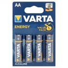 Varta Energy AA LR6 1,5 V Bateria alkaliczna 4 sztuki