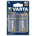 Varta Energy D LR20 1,5 V Bateria alkaliczna 2 sztuki