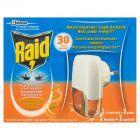 Raid Elektrofumigator z płynem owadobójczym przeciw komarom o zapachu kwiatu pomarańczy 21 ml
