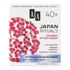 AA Japan Rituals Stymulacja nawilżenia Aktywny bio-krem na dzień 40+ 50 ml