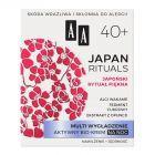 AA Japan Rituals Multi wygładzenie Aktywny bio-krem na noc 40+ 50 ml