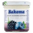 Bakoma Premium Jogurt jagodowo-jeżynowy 150 g