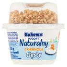 Bakoma Jogurt naturalny gęsty z granolą 200 g