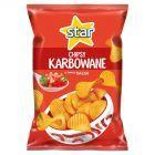 Star Chipsy karbowane o smaku salsa 130 g