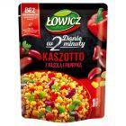 Łowicz Kaszotto kasza bulgur z papryką i czerwoną fasolą 250 g