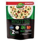 Łowicz Risotto ryż z jarmużem i suszonymi pomidorami 250 g