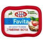 Mlekovita Favita Serek kanapkowy typu greckiego z pomidorami i bazylią 150 g