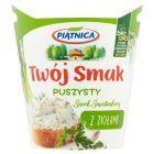 Piątnica Twój Smak Serek śmietankowy puszysty z ziołami 150 g
