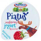 Piątnica Piątuś Jogurt kremowy malinowy 125 g