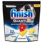 Finish Quantum Ultimate Lemon Tabletki do mycia naczyń w zmywarce 400 g (32 sztuki)